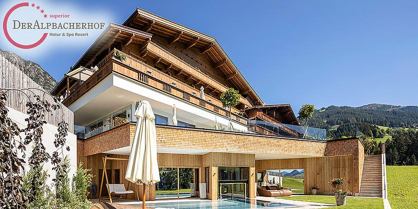 Gutschein für Traumhafte Wellness-Auszeit in Tirol für zwei Personen zum halben Preis!  von Natur & Spa Resort Der Alpbacherhof