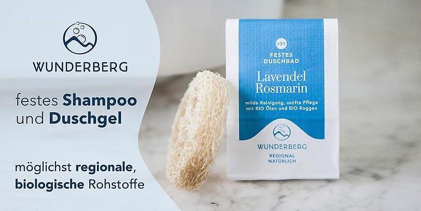 Gutschein für Kosmetik · Regional · Natürlich von WUNDERBERG