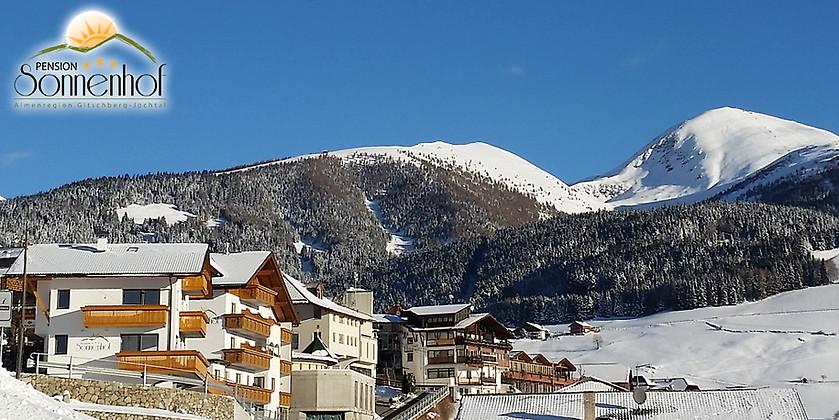 Gutschein für Traumhafte Panoramaaussicht hoch über dem Pustertal – Ihr Urlaub in der Region Gitschberg Jochtal von Pension Sonnenhof