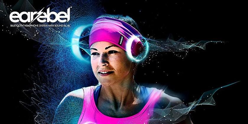 Gutschein für The most comfortable sport headphones von Earebel mit Sound by JBL