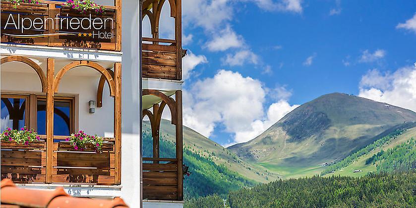 Gutschein für 7 Nächte für 2 Personen im wunderschönen Südtirol zum halben Preis! von Hotel Alpenfrieden