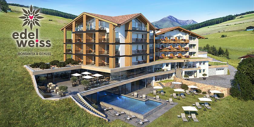 Gutschein für 7 Nächte für 2 Personen im wunderschönen Südtirol zum halben Preis! von Hotel Edelweiss