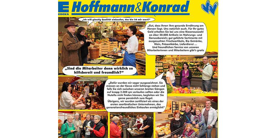 Das nette Personal im Aktivmarkt Hoffmann & Konrad freut sich auf Ihren Besuch