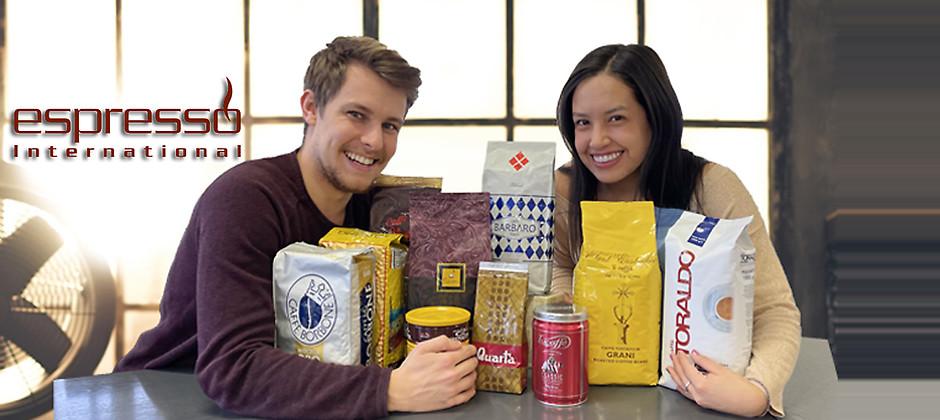 Gutschein für Kaffeegenuss erleben von Espresso International