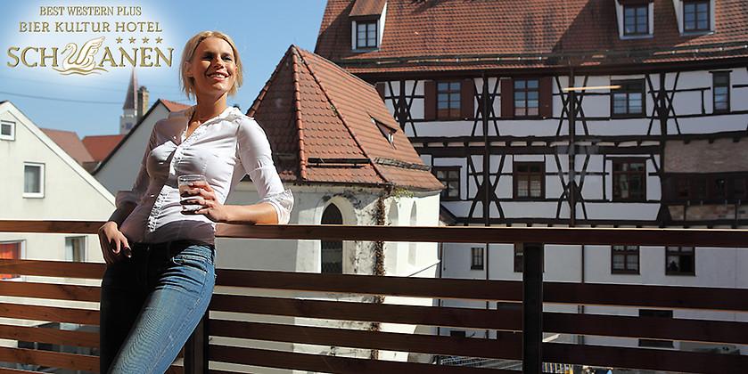 Gutschein für Kulinarik rund ums Bier mit zwei Übernachtungen zum halben Preis! von Best Western Plus Bier Kultur Hotel Schwanen