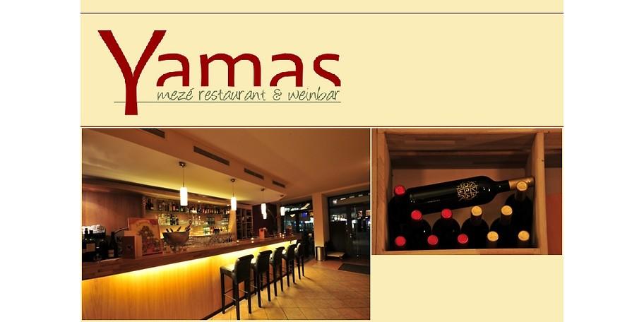 . Gutschein   Yamas Mez  Restaurant   Weinbar   25     statt 50