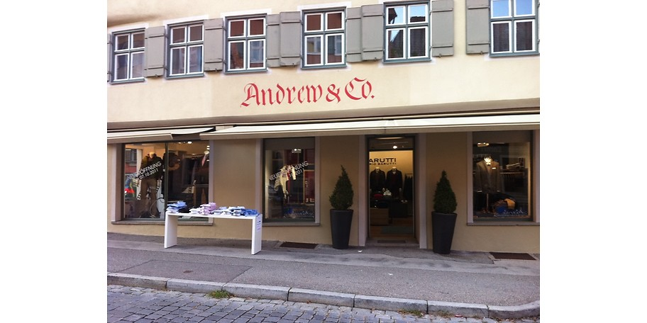 Sparen Sie mit einem 50€-Gutschein für Andrew & Co in Dinkelsbühl