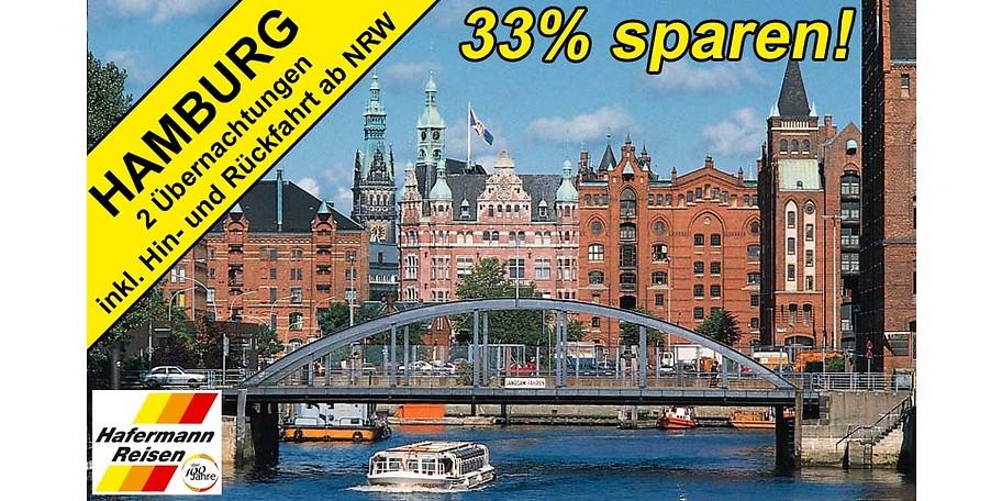 Mit diesem Gutschein erleben Sie drei Tage Hamburg