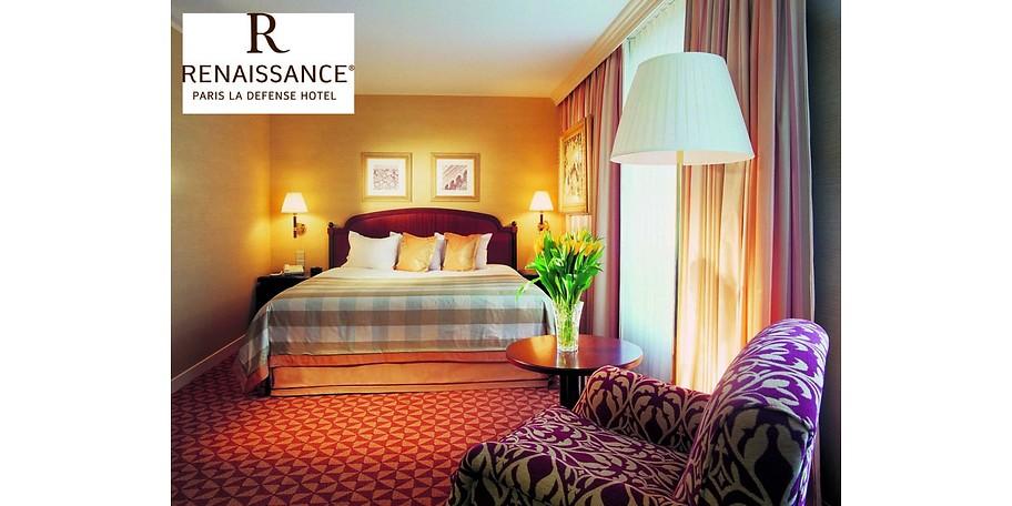 Sie wohnen im Renaissance Hotel