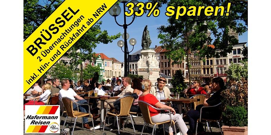 Gutschein für Ihren Kurzurlaub nach Brüssel