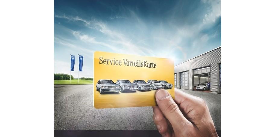 die mercedes-benz service vorteilskarte