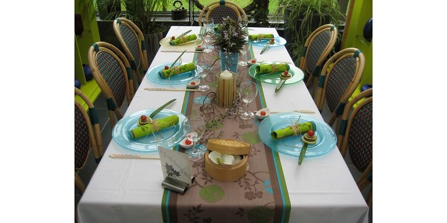 Erleben Sie Gastronomie unter Glas im Bambusgarten in Herrieden