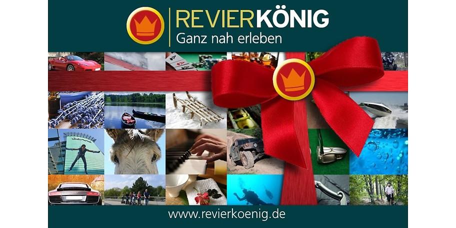 Sparen Sie mit diesem Gutschein 25€ und erleben Sie Unvergessliches, organisiert vom Revierkönig in Bochum