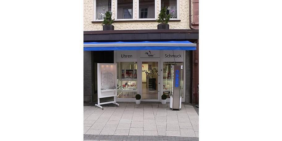 Uhren, Brillen und edler Schmuck bei Hahn in Tauberbischofsheim