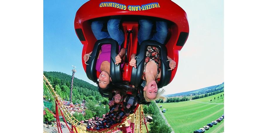Shows, Fahrten, Spaß und Spannung - alles inklusive in Ihrem Freizeitland Geiselwind