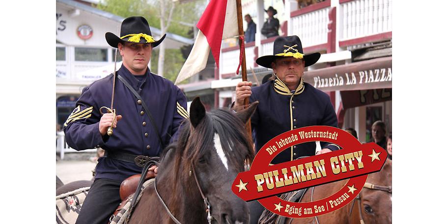 Erleben Sie Pullman City und sparen Sei mit einem Gutschein für das Familienticket
