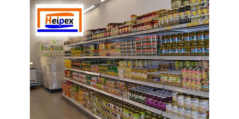 Gutschein - Heipex Lebensmittel - 15,- € statt 30,- €
