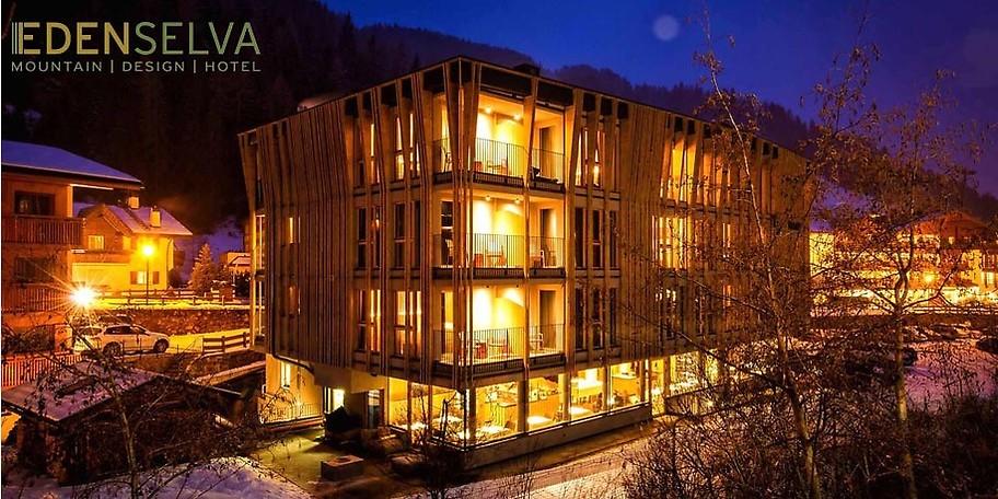 Gutschein mountain design hotel eden selva 700 for Design hotel eden