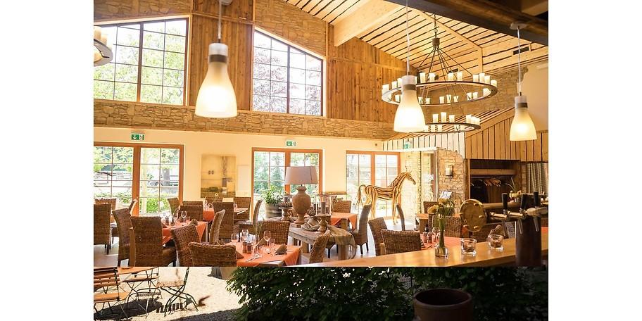 Frische, regionale und saisonale Speisen im Landgut am Hochwald in Sonsbeck