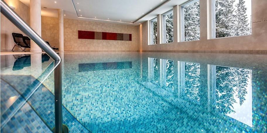 Wellness und Entspannung im schweizer Hotel Waldhotel National Arosa