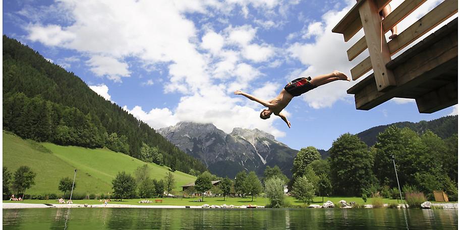 Auch im Sommer purer Spaß auf Gut Wenghof - Family Resort Werfenweng