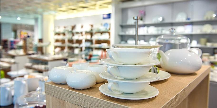 Glas, Porzellan und Keramik bei Möbel Heinrich in Hameln