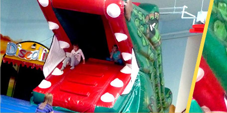 Lassen Sie Ihr Kind im Springolino in Herford spielen & toben