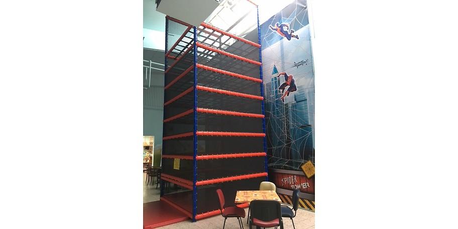 Der Spider-Tower - Die neue Attraktion im Springolino Herford