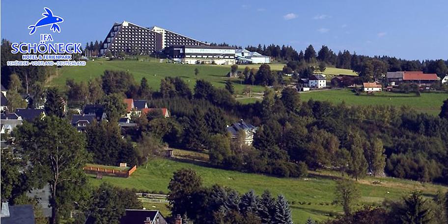 Wunderbare Außenansicht Hotel & Ferienpark IFA Schöneck