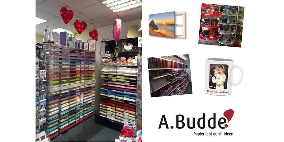 A. Budde - Ansprechpartner für alle, die gerne schreiben, schenken und basteln!