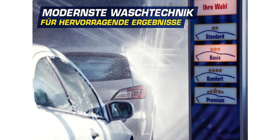 Mit modernster Waschtechnik erzielt der Waschkasten in Duisburg hervorragende Ergebnisse