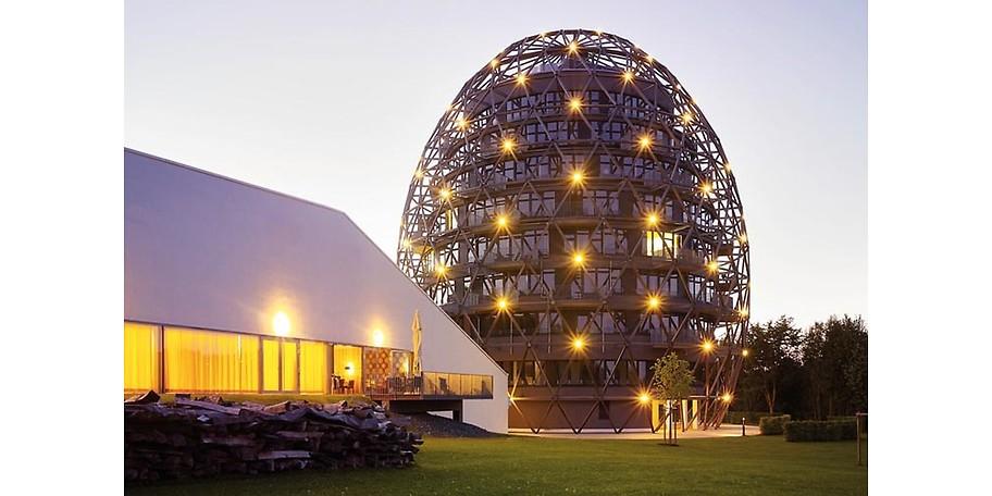 OVERSUM in Winterberg ist das wohl erste Hotel-Ei Europas