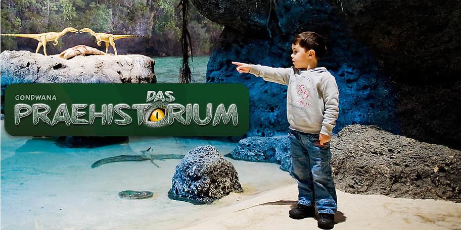 Die größte Dinoshow aller Zeiten bei GONDWANA – Das Praehistorium