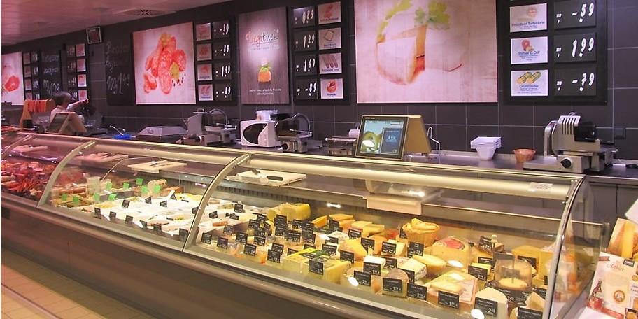 Frisches von der Käsetheke im EDEKA Martk Groß in Tholey