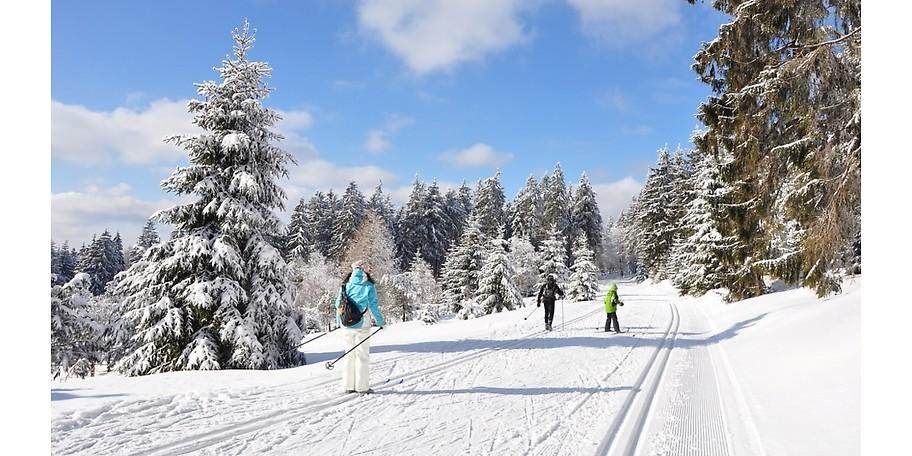 Erleben Sie den Winter im Erzgebirge