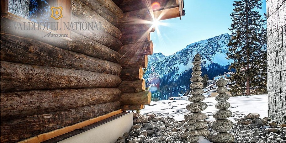 Das Waldhotel National in Arosa ist Ihr Winterparadies in der Schweiz