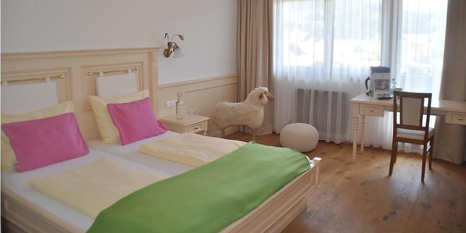 Kesselgrubs Ferienwelt verfügt über unterschiedliche Zimmertypen vom Doppelzimmer bis hin zu Familiensuiten für größere Familien