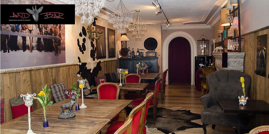 Gemütliche Atmosphäre in der Andrebar in Rottach-Egern