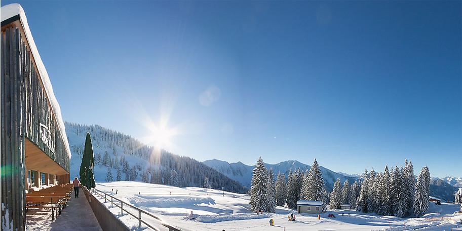 Im Laternsertal erleben Sie den Winter von seiner schönsten Seite