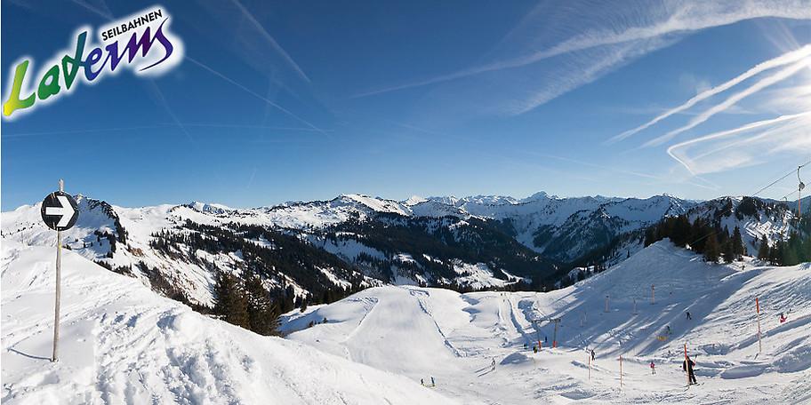 Das Laternsertal mit seinen Ortschaften ist ein Seitental des Vorarlberger Oberlands