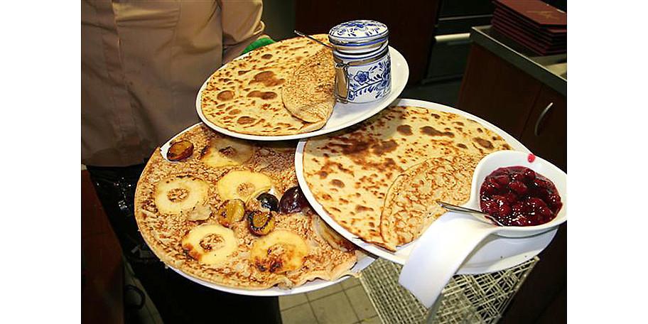 Das Pfannkuchenhaus Oberhausen bietet seinen Gästen süße oder deftige Gerichte