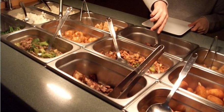 Das Buffet im Restaurant Sinohaus lässt keine Wünsche offen