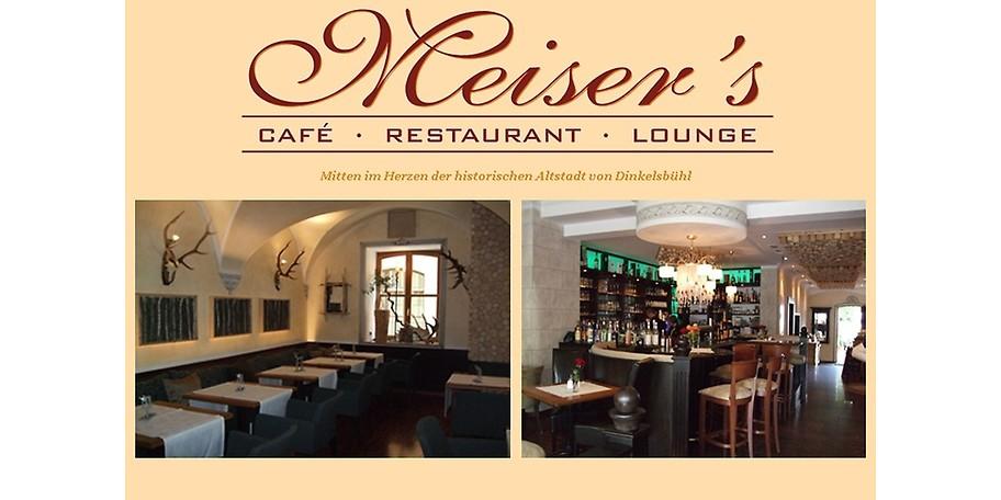 Herzlich Willkommen in Meiser's Grand Café