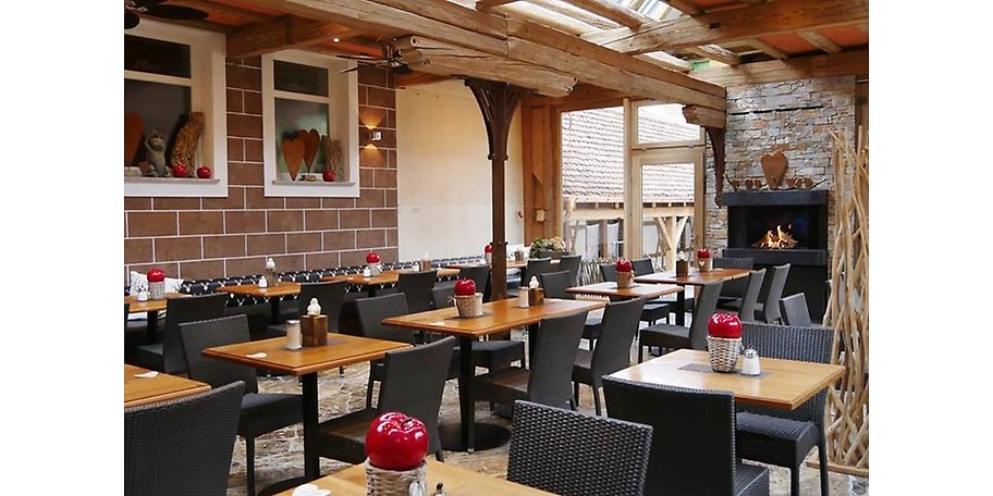 Auch moderne, leichte Crossover-Küche finden Sie in Meiser's Grand Café
