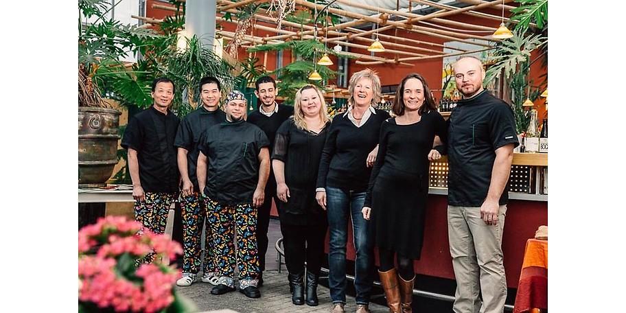 Im Bambusgarten begrüßt Sie ein freundliches Team