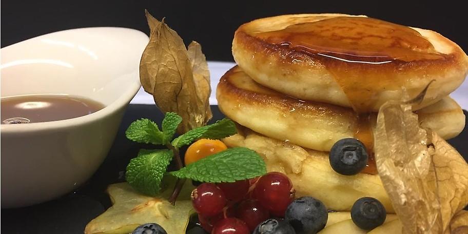 Leckere Pancakes erwarten dich beim Brunchen