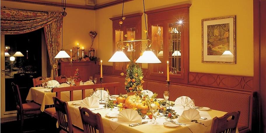 Gemütliches Ambiente zeichnet das Restaurant Viktoria aus