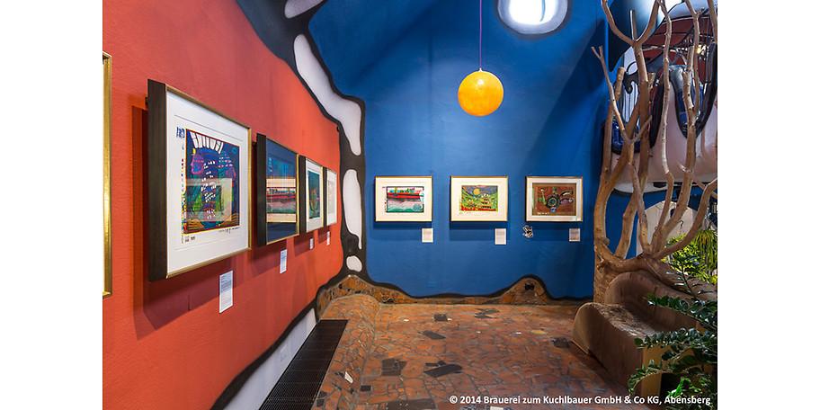 Besuchen Sie die Hundertwasserausstellung