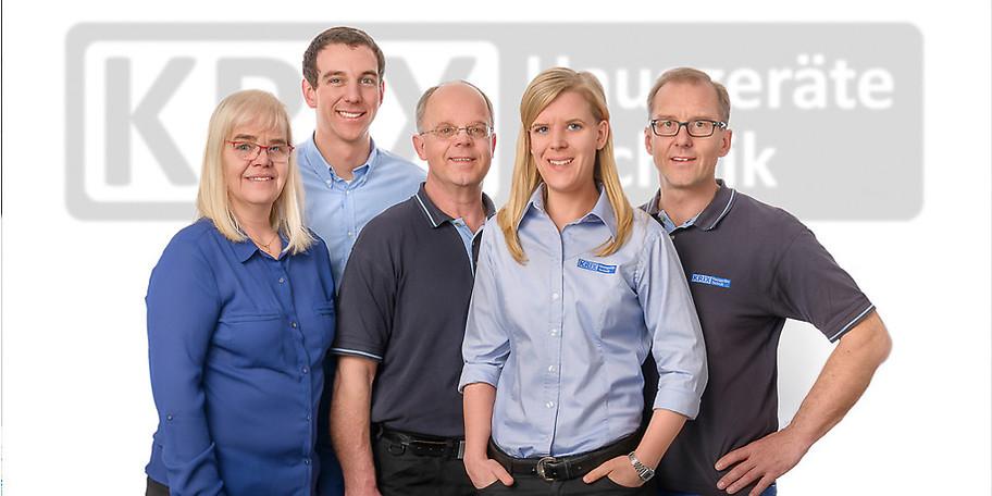 Das Team rund um Krix Hausgeräte Technik freut sich auf Ihr Kommen