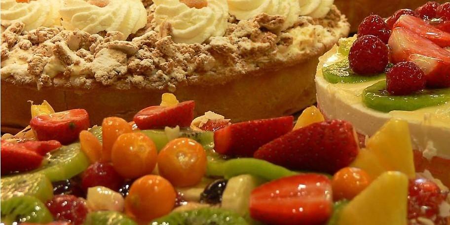 Dank der großen Kuchen- und Tortenauswahl ist für jeden Geschmack etwas dabei